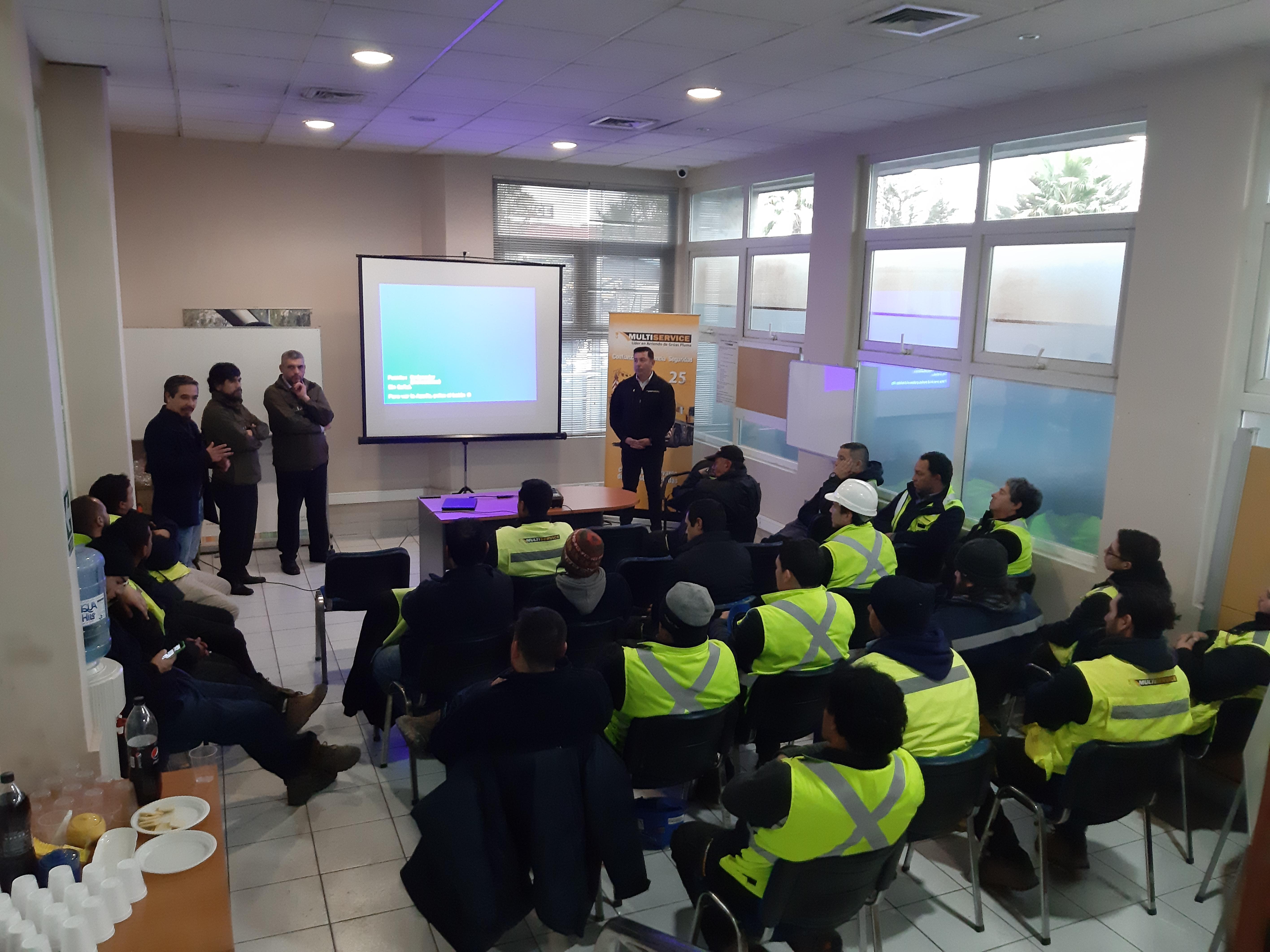 Charla NARCOTEST En Chile, Carabineros De Chile 14° Comisaría San Bernardo